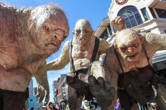 Hobbit Premiere 3 trolls