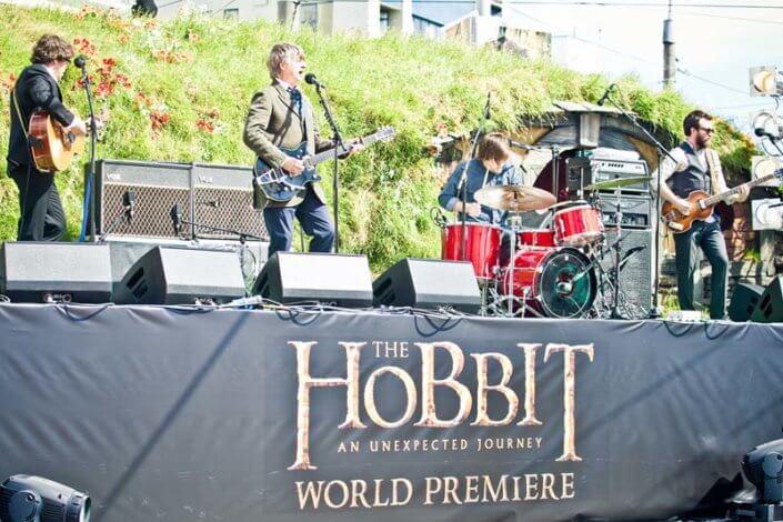 Stage Hobbit Premiere