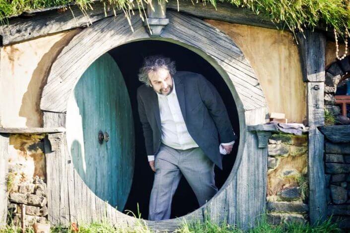 Sir Peter Jackson Hobbit Premiere