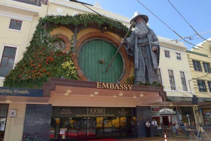 Embassy Theater Hobbit Premiere