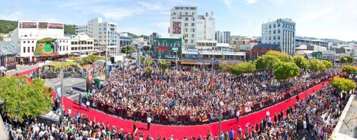 Hobbit Premiere crowd