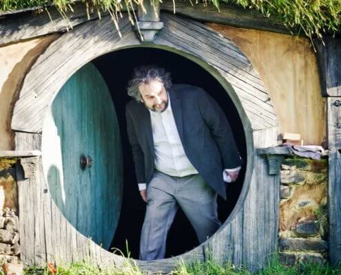 Si Peter Jackson Hobbit hole