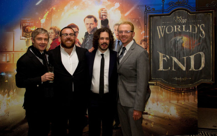 The Worlds End Premiere