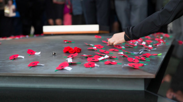 ANZAC Day ceremony at Pukeahu National War Memorial Park